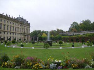 Gartenansicht der Würzburger Residenz Foto pixelio ©Wernersbacher