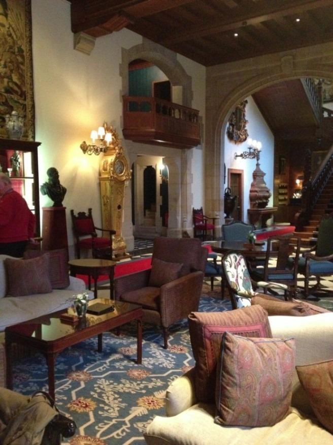 mit der Auto-Couch im Schlosshotel Kronberg Halt gemacht