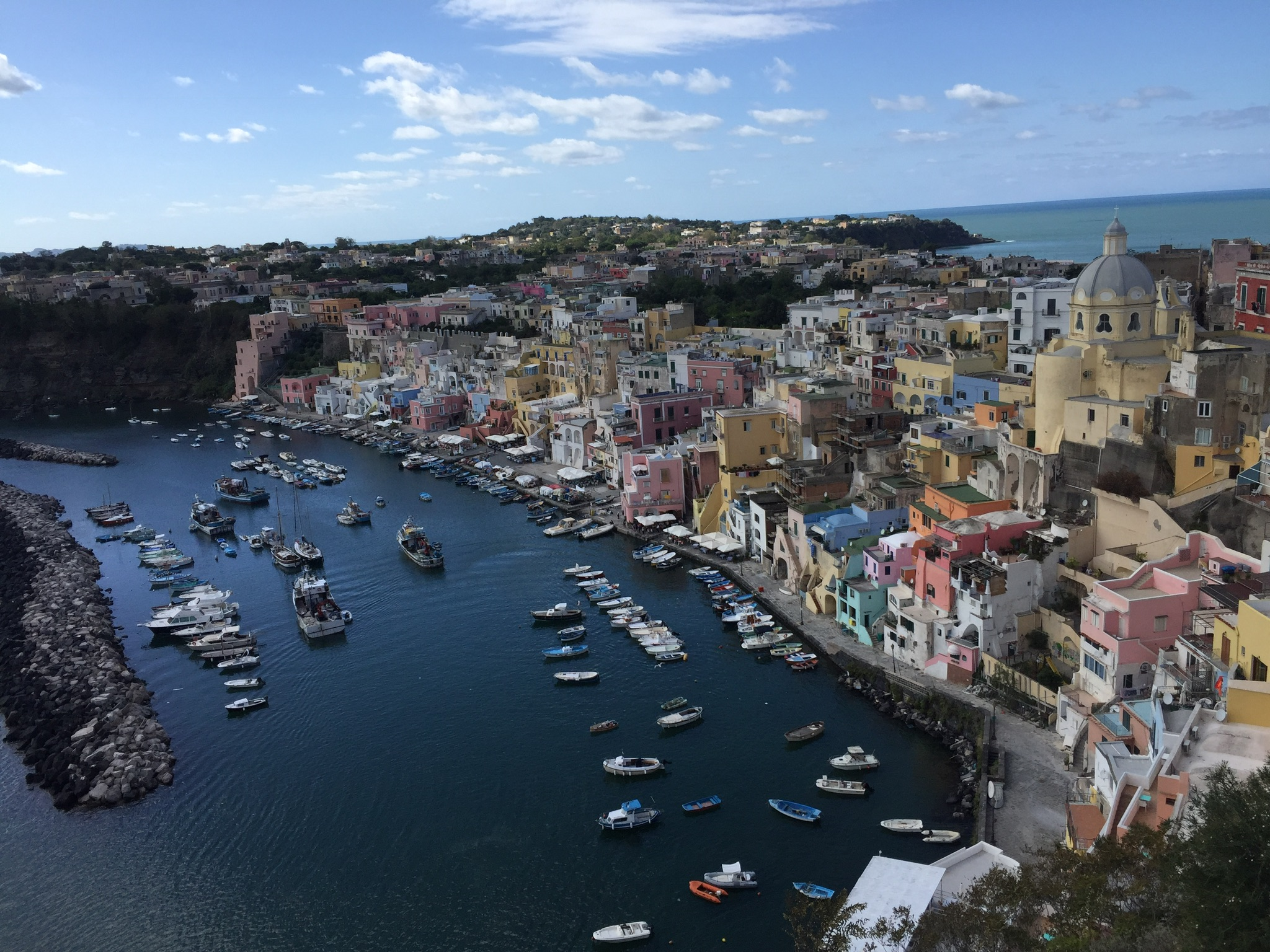 Sehenswert in der Region Kampanien: Die Insel Procida