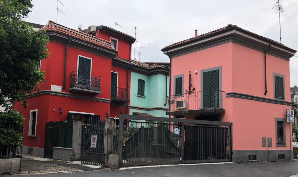 Die Artbeitersiedlung wird auch als das Burano Mailands bezeichnet