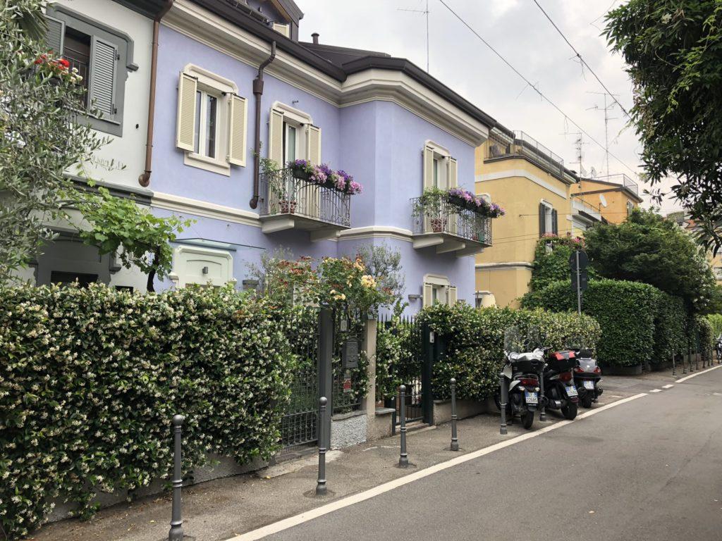 villagio operaio di Via Lincoln a Milano