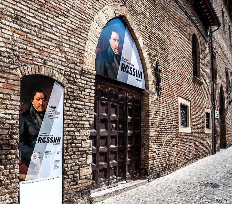 Rossini 150 – Mostra nelle Marche per i 150 anni dalla morte di Gioacchino Rossini