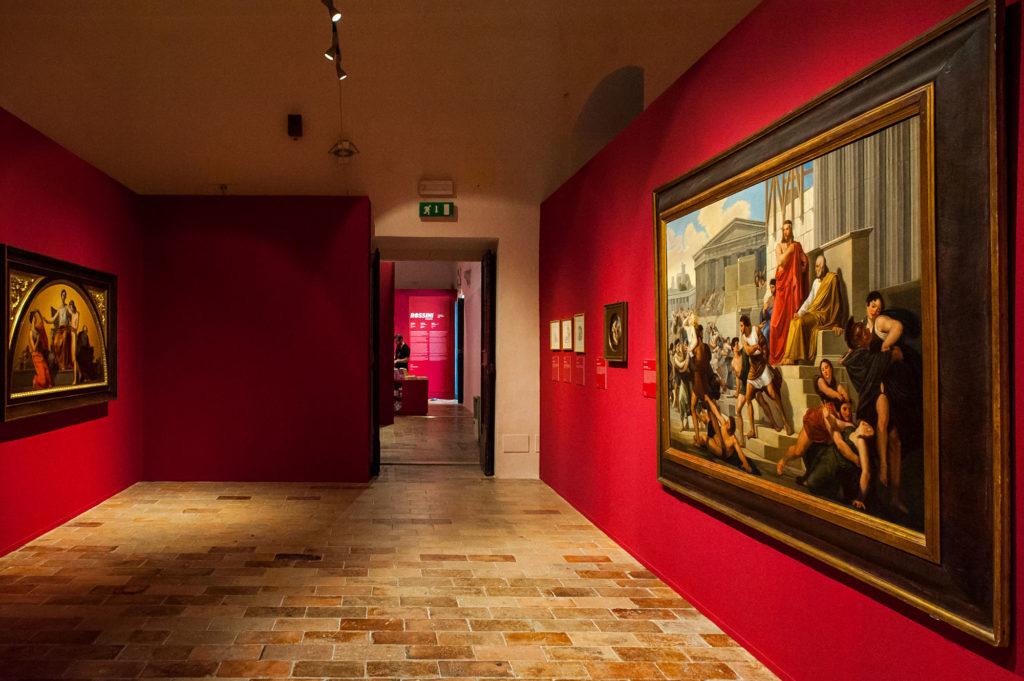Gioacchino Rossini mostra a Urbino