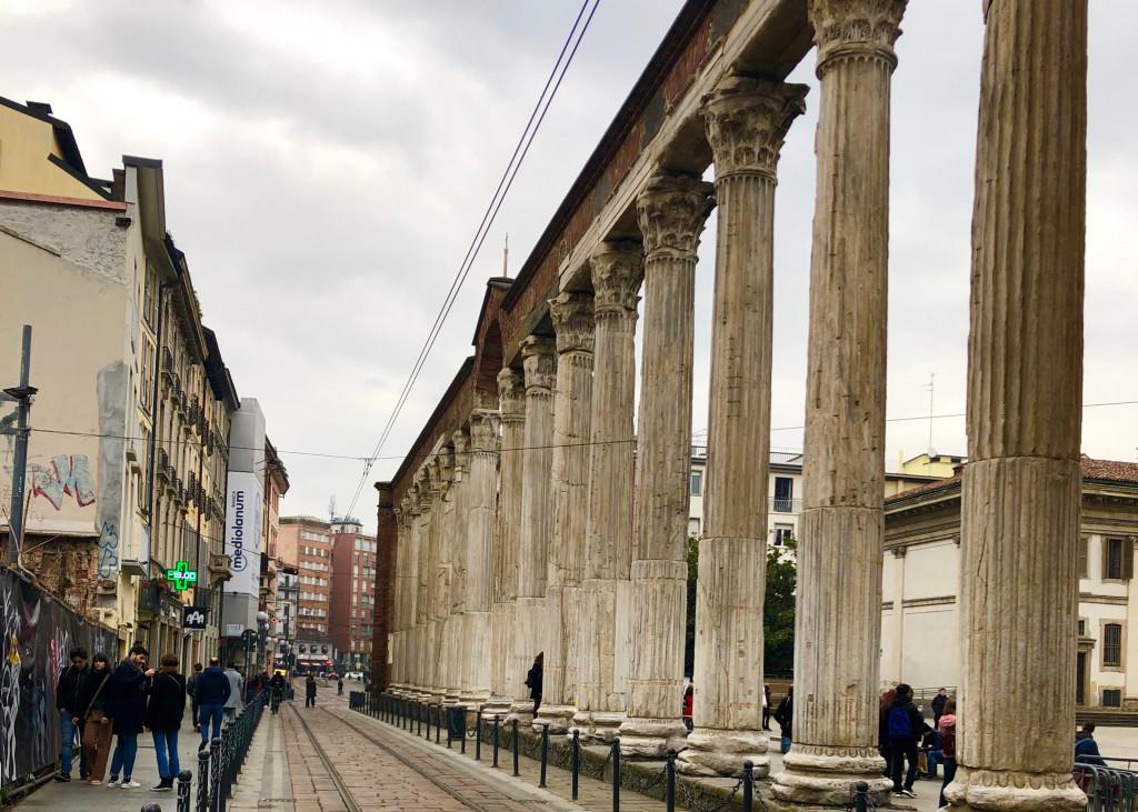Mailand-Tipps: Kolonnen von San Lorenzo