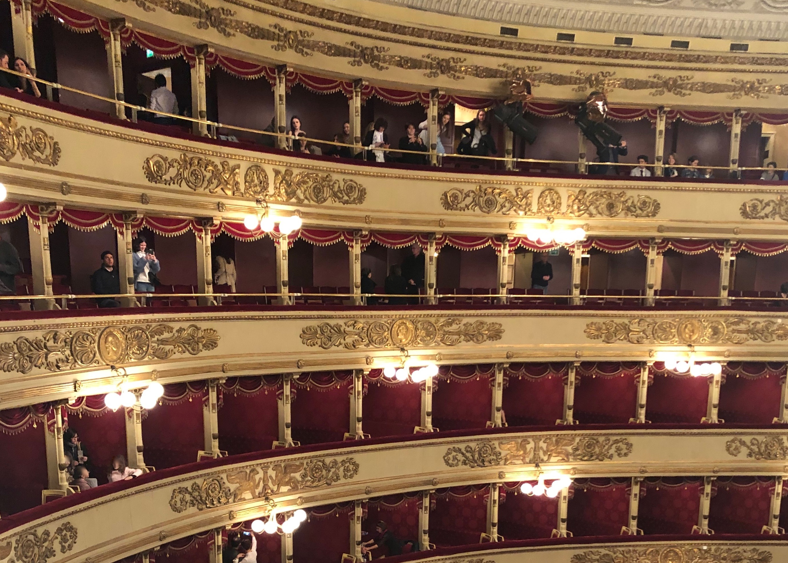 Eröffnung der Opernsaison an der Mailänder Scala