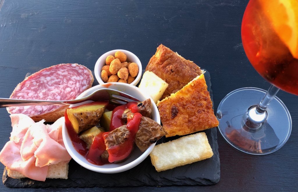 Aperitivo all'italiana a Milano