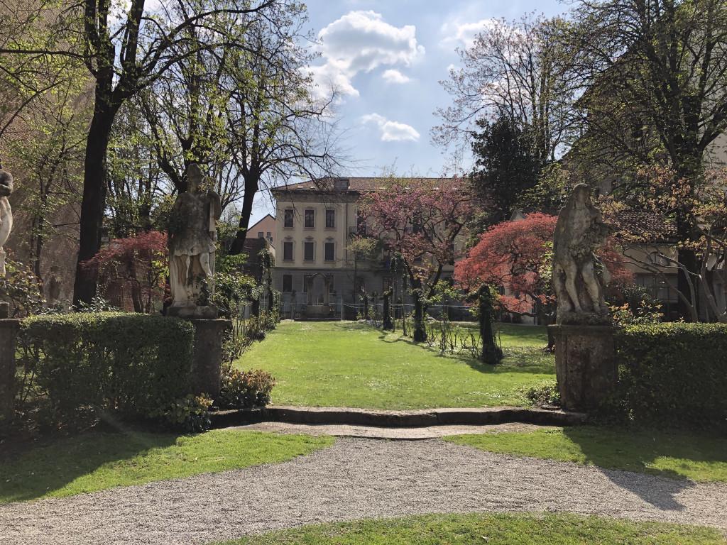 Leonardo da Vinci Weinberg im Garten des Casa degli Atellani