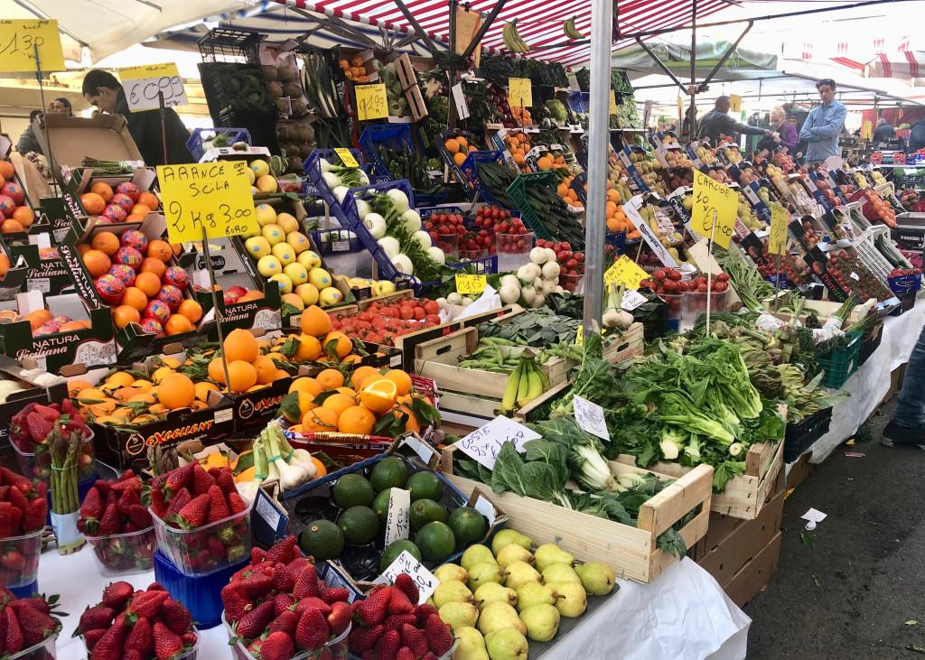 Wochenmarkt in Mailand
