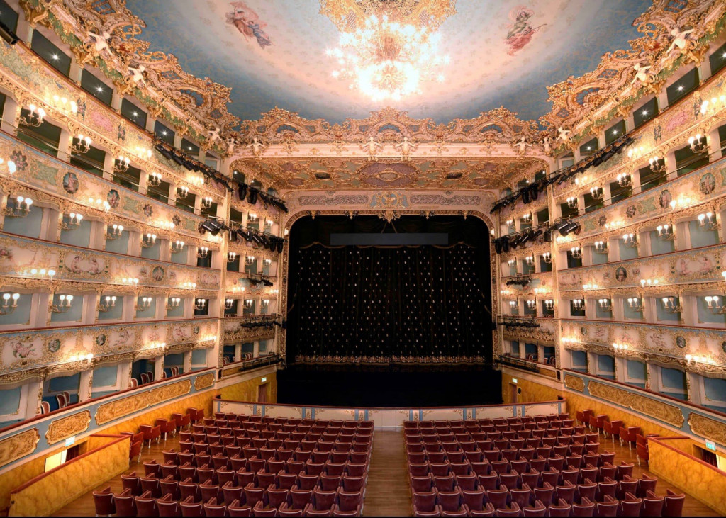 Innenraum La Fenice in Venedig