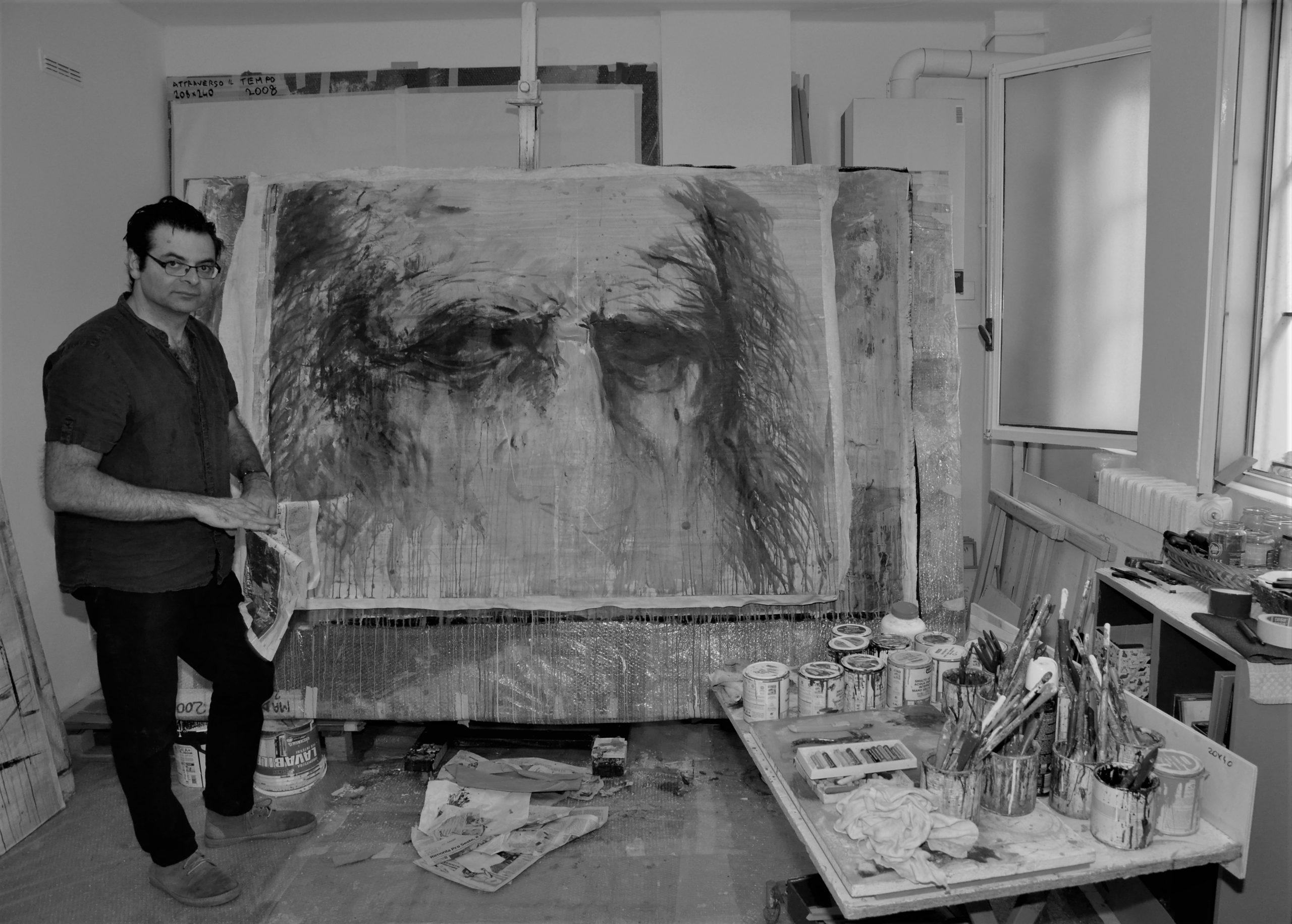 Giovanni Cerri in seinem Mailänder Studio