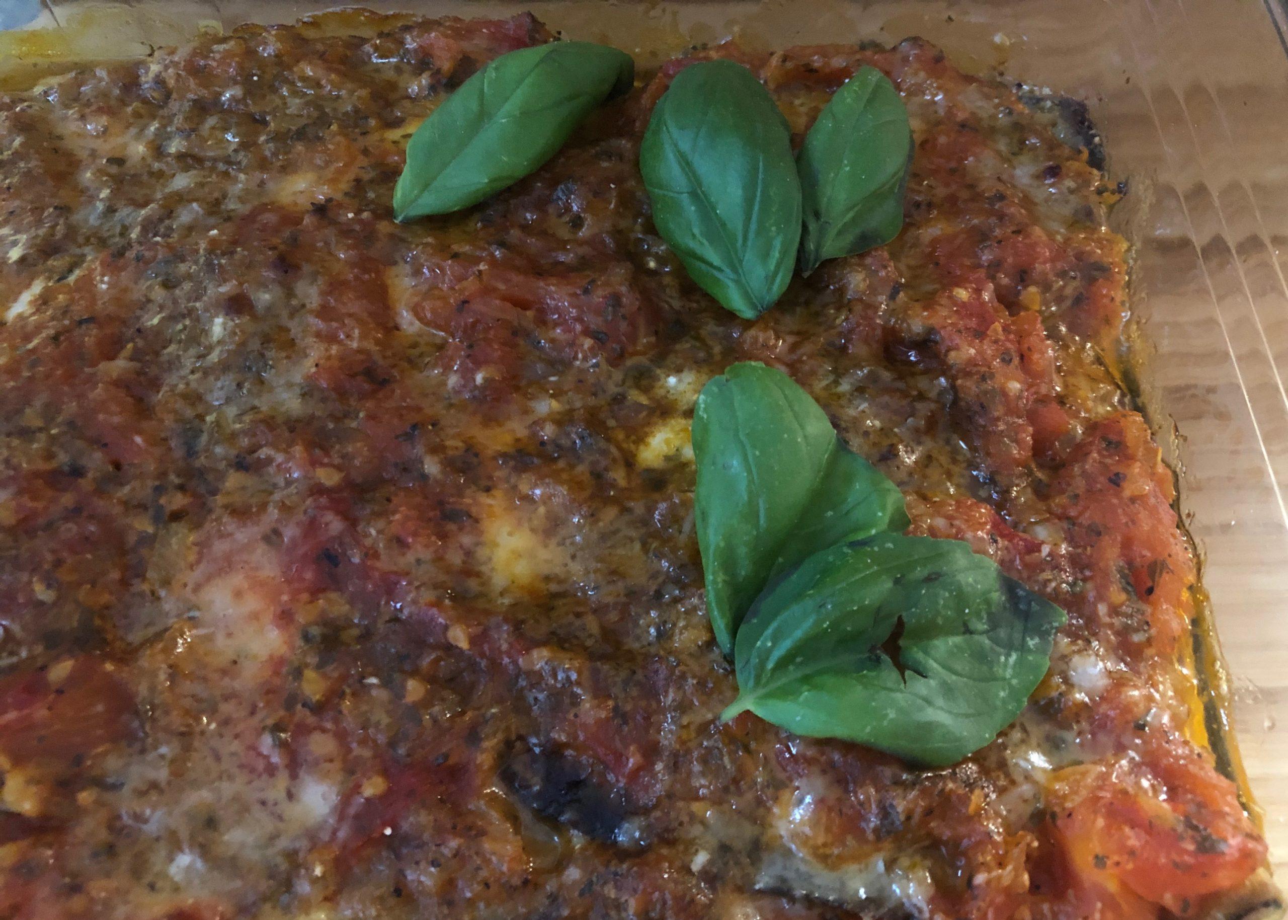 Parmigiana alla melanzane oder Auberginenauflauf