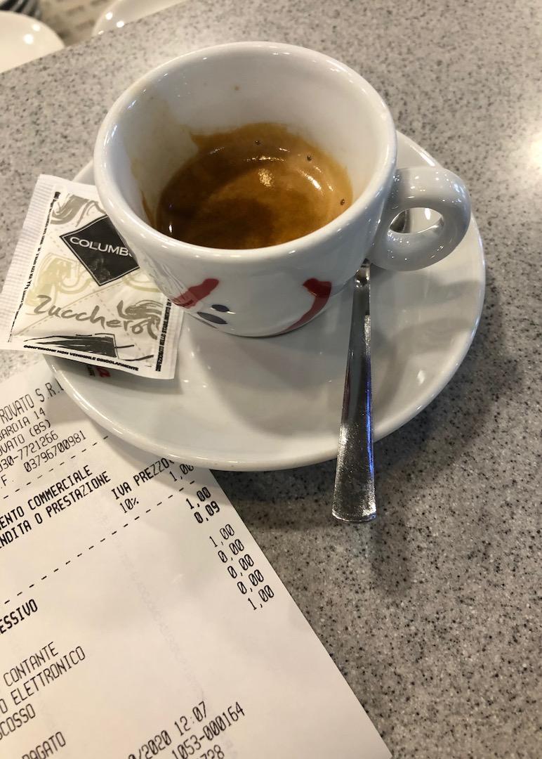 Italien Frühstück
