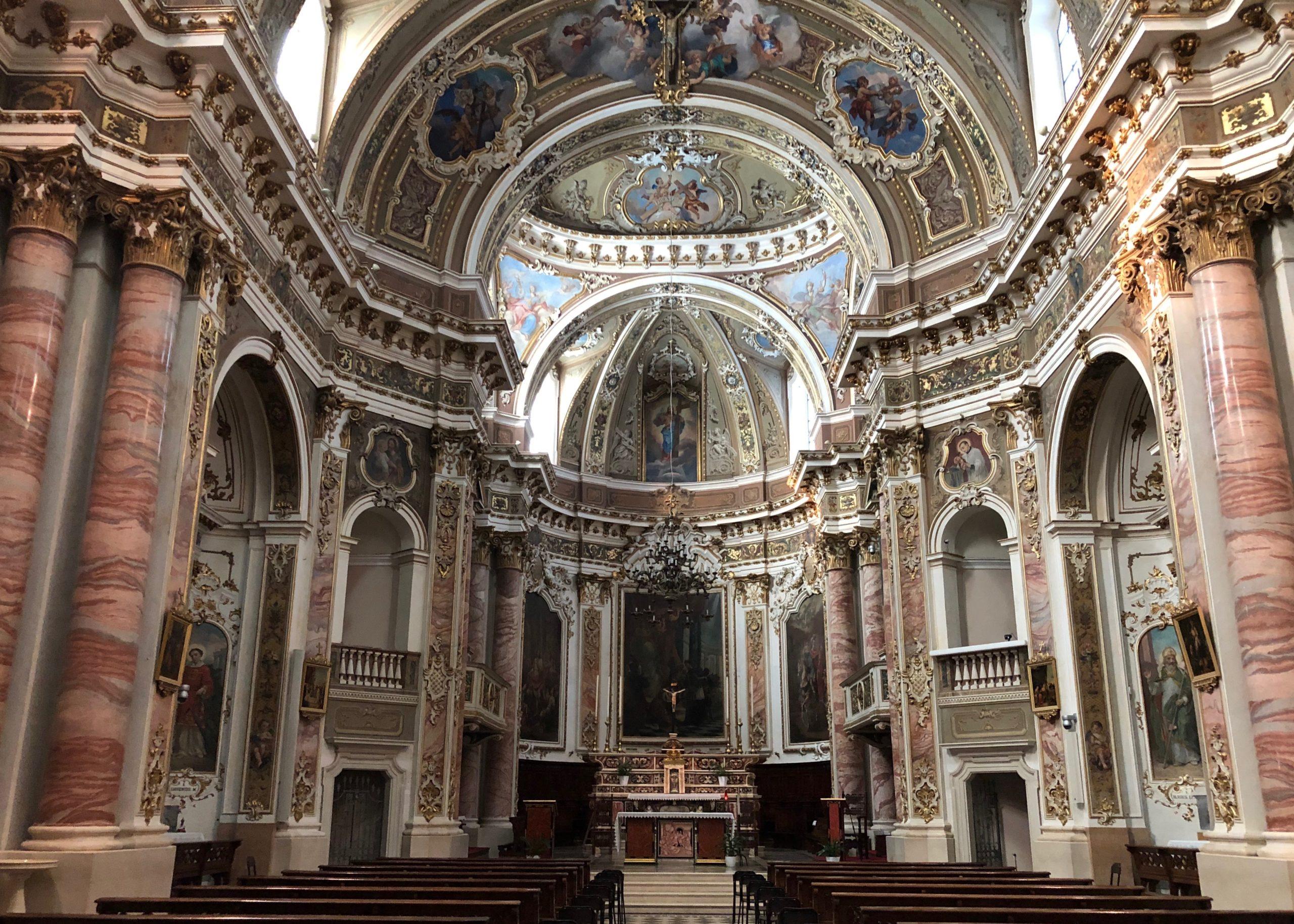Barocke Kirche San Martino in Sarnico