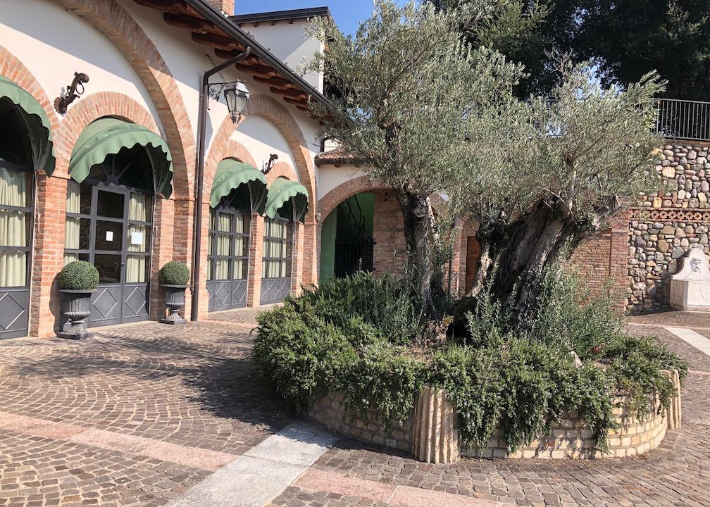 Hof des Weingut Corteaura