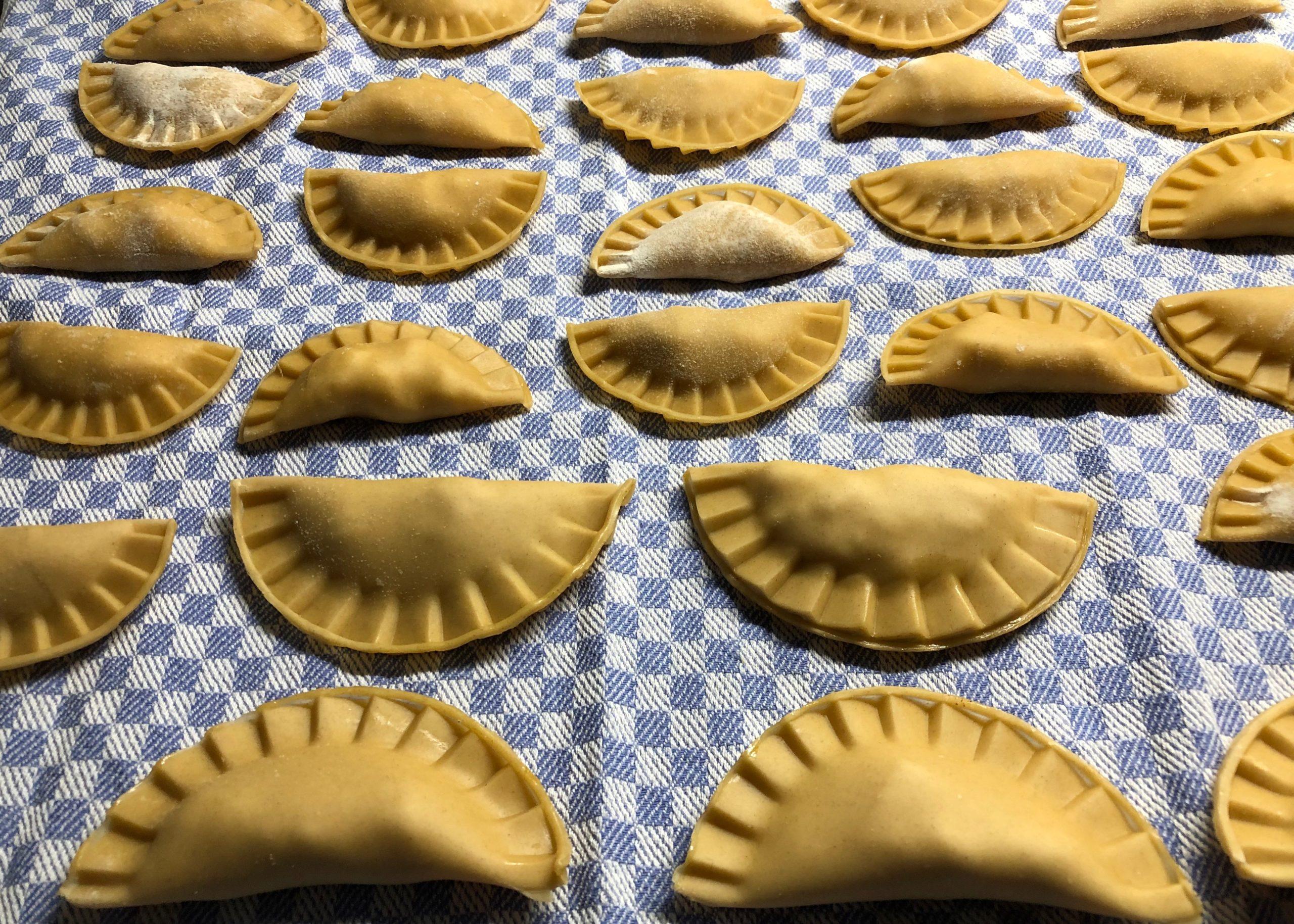 Ich feiere die Pasta am World Pasta Day