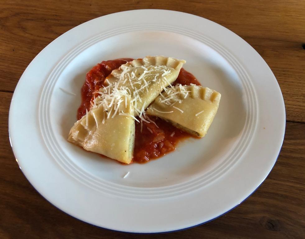 Culurgiones, sardische Ravioli mit Kartoffel-Minz-Füllung