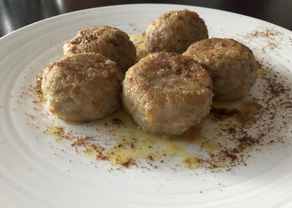 Triester Spezialität: Gnocchi di susine - Zwetscgenknödel